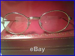 23a53f4db857 Vintage 100% Authentic CARTIER SAINT HONORE  Eyeglasses France NOS ...