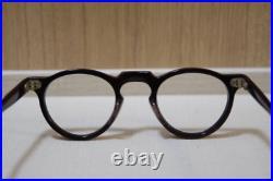 Vintage 1940s eyeglasses frame France Handmade in France Acetate frame