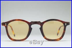 Vintage 1950S Made In France 2 Dots Punt 38-25 Sunglasses Glasses Flame Frame
