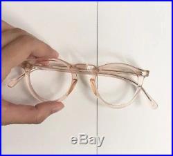8f2e995cd8 Vintage 1950's Frame France Panto Eyeglasses Handmade In France Antique  Lunettes
