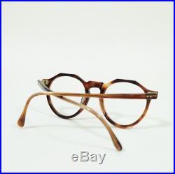 Vintage 1950s French Eyeglasses Crown Panto Made In France Frame France