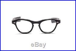Vintage 1950s cat eye eyeglasses Riviera Heavy by Selecta in black 46-20 mm EG4