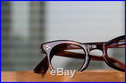 Vintage 1950s frame France eyeglasses sunglasses handmade in France 3 Dots Rivet