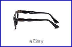 Vintage 1950s pointy cat eye eyeglasses Selecta Bijou Decor black 44-22mm #EG22