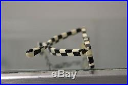 Vintage 1960s checkered eyglasses made in France