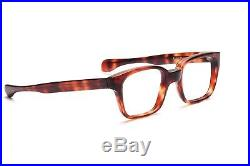 Vintage 1960s eyeglasses for men Selecta demi amber 52-22mm mod. Commodore W6