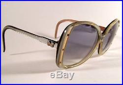 Vintage 1970'S NINA RICCI France Oversized Eyeglass Sunglass Frames