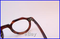 Vintage 40s eyeglasses frames hand made in France men's small women's medium EXC
