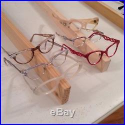 Vintage 50s 60s Cat rhinestone France Glasses Lot eyeglasses Frame 35+ Pair