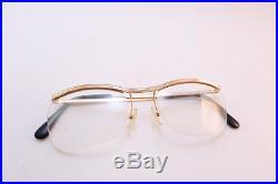Vintage 50s AMOR gold filled eyeglasses frames France men's SML/MED women's MED