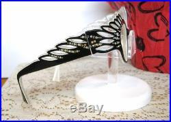 Vintage 50s French Cat Eye Glasses Eyeglasses Sunglasses France frames