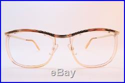 Vintage 50s eyeglasses frames gold filled clear lens surrounds AMOR France