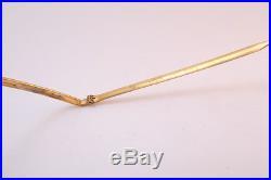Vintage 50s gold filled eyeglasses frames Amor France 140mm men's small/medium