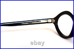 Vintage 60's NOS Psychedelic Mod Adensco Majorca Eyeglass Frames Black Diamond