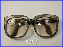 Vintage 60s Emmanuelle Khanh Oversized Frames Sunglasses Eyeglasses France