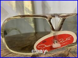 Vintage 70s NWT Deadstock Oscar De La Renta Mens Aviator Eyeglass Frames France