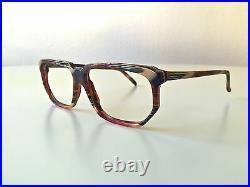 Vintage ALAIN MIKLI 702 multicoloured NOS France rare glasses eyeglasses frame M