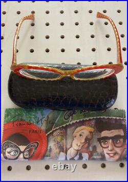 Vintage ALAIN MIKLI AL 1037 0003 55mm Women's Eyeglasses Frame France