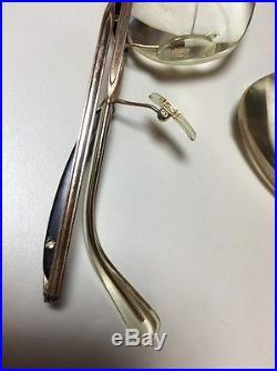 a46494871e8 Vintage AMOR Gold Filled 50 s Made in France Eyeglasses Glasses  140 Cat s  Eye