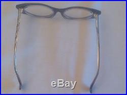 Vintage Alain Mikli Purple/gold/black/clear A. M. 89 0179 -475 Cateye Eyeglasses