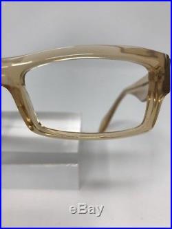 Vintage Anne Et Valentin Eyeglasses France Socash 0736 Clear White C106