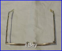 Vintage Art Craft Aluminum Eyeglass Frames France 4 5 1/4