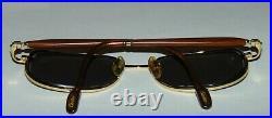 Vintage Authentic Cartier Wood Temple Eyeglasses France 54/17/138