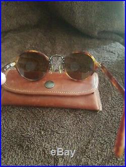 Vintage Authentic Faconnable Tortoise Gretel IV 48mm Frames Eyeglasses France