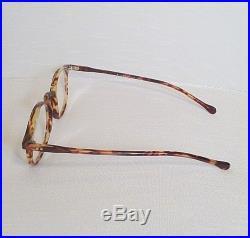 Vintage Authentic Francois Pinton Faux Tortoise Horn Rimmed Eyeglasses Frames