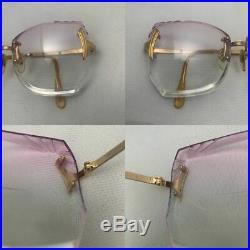 Vintage Buffard'Multi Facets' Eyeglasses GEP 22 KTS Made in France