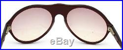 Vintage Bugatti Sun Glasses in Red Color Made in France with Original Case