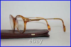 Vintage CARTIER Eyeglasses Paris 1747228 130 With Case RX Lenses