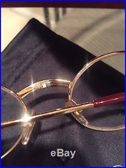 Vintage CARTIER Gold Eyeglass Frame