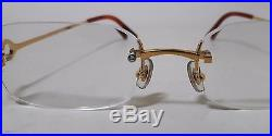 Vintage CARTIER Gold Eyeglasses Frame