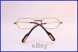 Vintage CARTIER PARIS 24K gold filled LAQUE eyeglasses frames Serial 379887
