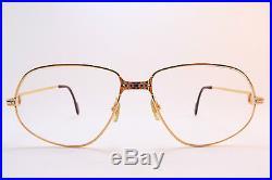 Vintage CARTIER PARIS 24K gold filled eyeglasses frames Serial 1510269 France