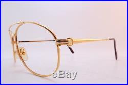 Vintage CARTIER PARIS 24K gold filled eyeglasses frames Serial 2118175 France