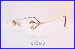 Vintage CARTIER PARIS 24K gold filled eyeglasses frames Serial 2618722 France