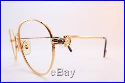 Vintage CARTIER PARIS 24K gold filled eyeglasses frames Serial A016617 France