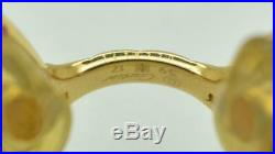 Vintage CARTIER Panthere Eyeglasses Sunglasses Lunettes Gold Plated Frame 59-17