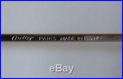 Vintage CARTIER Paris ROMANCE 1986 Gold and Silver Eyeglasses Frame 56-16 France