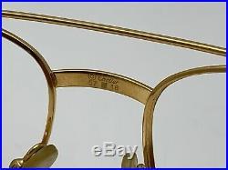 Vintage Cartier Aviator Sunglasses Eyeglasses Frame 2178111 57-18 135 mm France