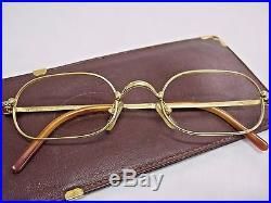 709a772e291 Vintage Cartier Deimos eyeglasses sunglasses glasses frame Fred Cazal  guiltier