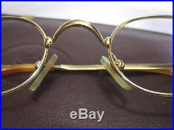 Vintage Cartier Deimos eyeglasses sunglasses glasses frame Fred Cazal guiltier