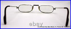 Vintage Cartier Demilune Vendome Reading Eyeglasses WithCase 50-24-140