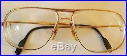 Vintage Cartier Eyeglasses 1988 62 14 140 Serie Limitee. Gold