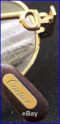 Vintage Cartier France Sunglasses Gold Filled Frame
