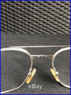 Vintage Cartier Glasses Authentic Cartier Frames SANTOS DE CARTIER 130 EUC
