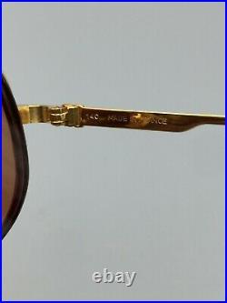 Vintage Cartier Gold Half-Rim Eyeglasses Pre-Owned