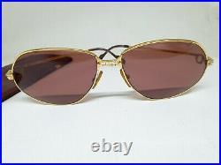 Vintage Cartier Louis Vendome Santos sunglases/eyeglasses 63m France sunglasses
